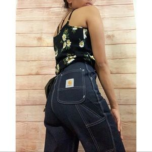 Vintage Carhartt Highwaisted Carpenter Jeans